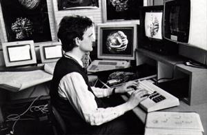 William Latham Portrait 1987A IBM